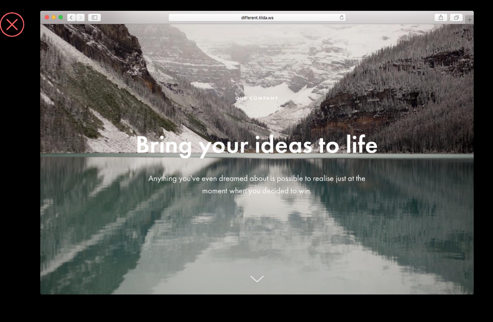 website contrast