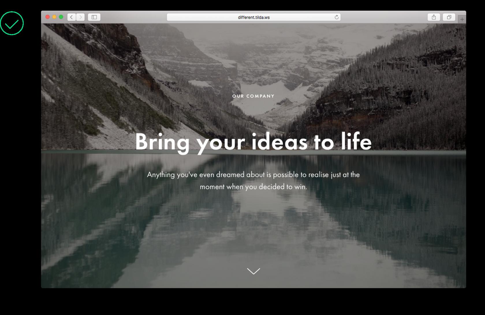 web design contrast
